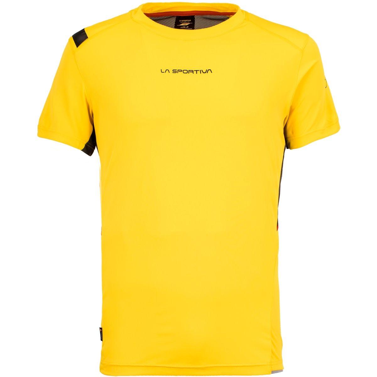 Blitz - T-shirt course à pied Homme - jaune