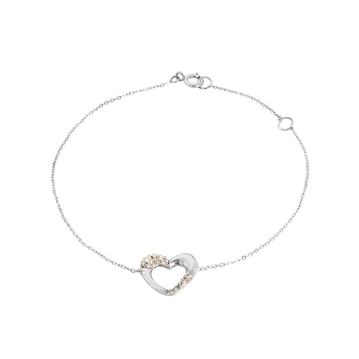 Bracelet en Or 375/1000 et Oxyde