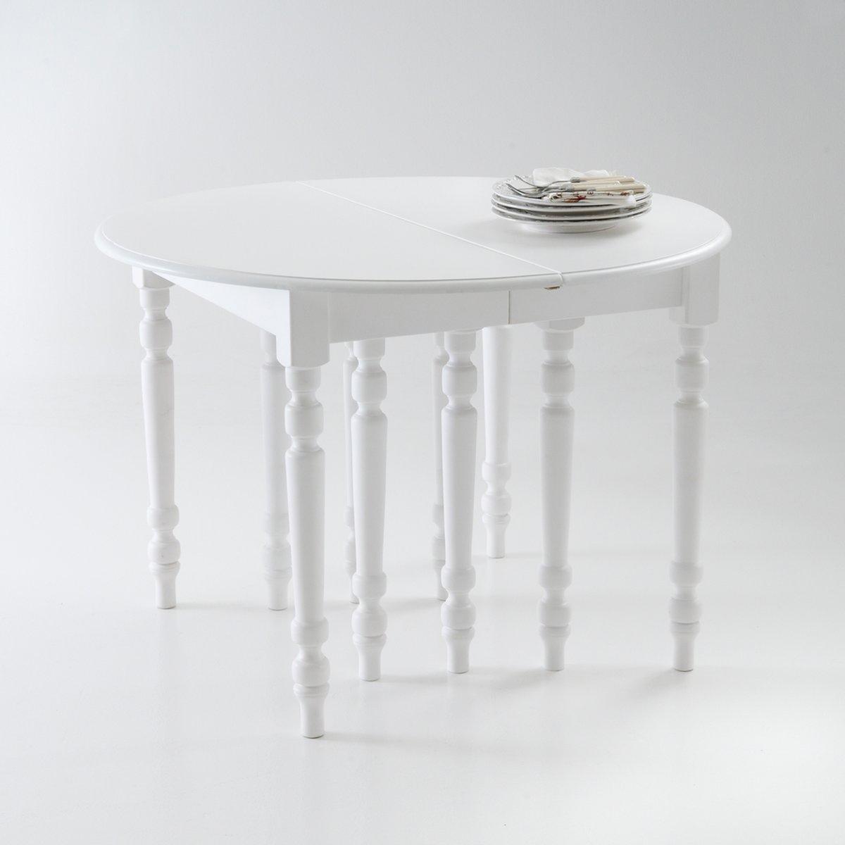 Стол LaRedoute Обеденный на 4-16 персон Authentic Style 16 персоны белый круглый laredoute стол на 4 8 персон authentic style 8 персоны белый
