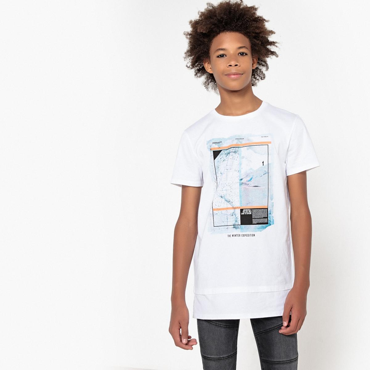 Футболка с короткими рукавами с принтом 10-16 лет футболка с принтом кактус 10 16 лет