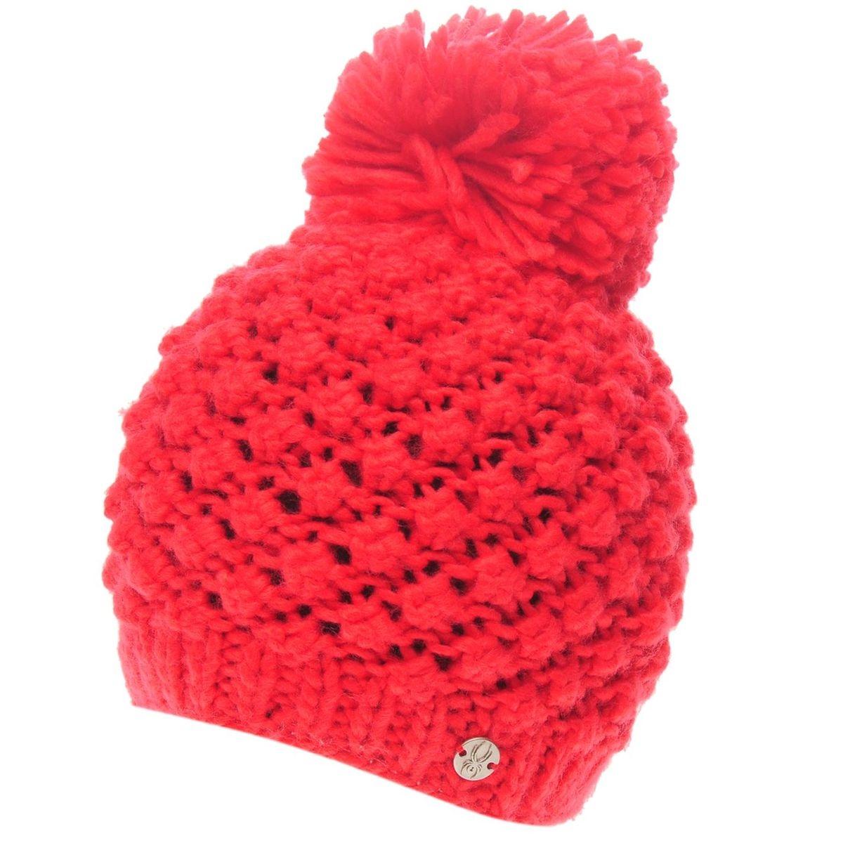 Bonnet à pompon en tricot chunky