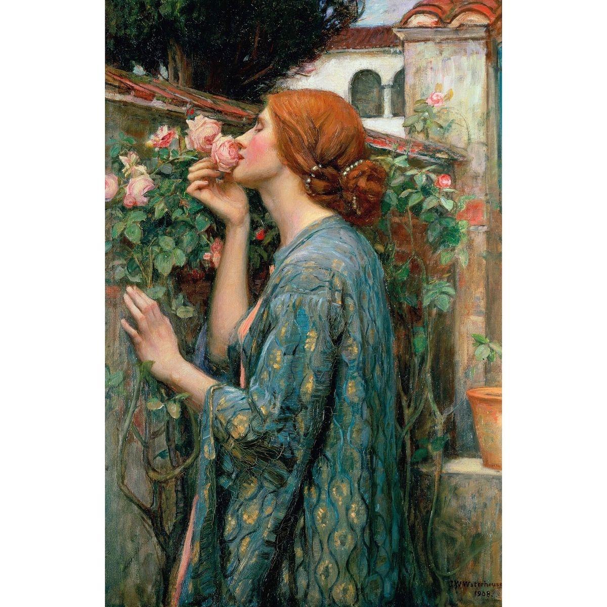 Puzzle d'art en bois 150 pièces Michèle Wilson : John William Waterhouse : L'âme des roses
