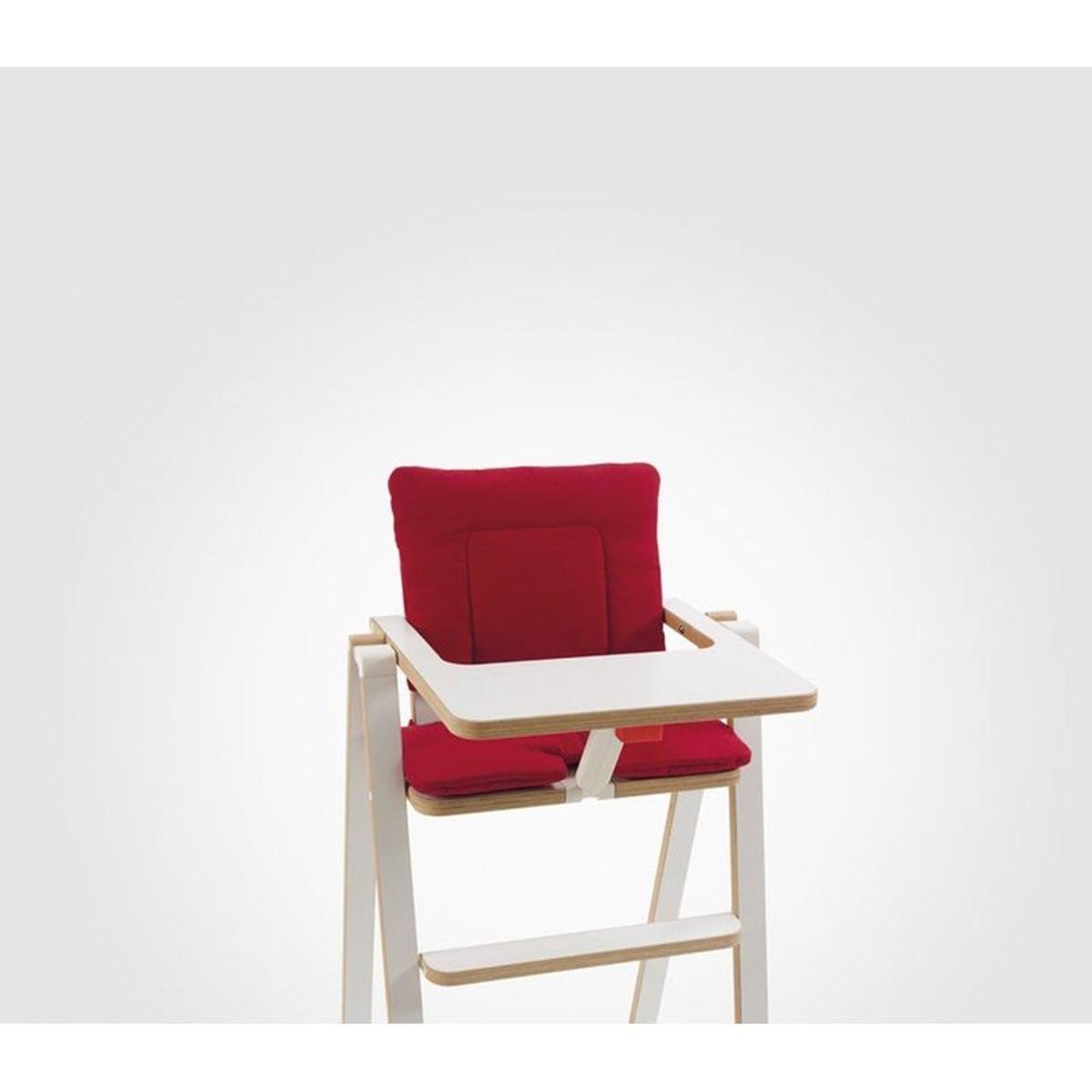 Coussin réducteur chaise haute Supaflat Signature Red