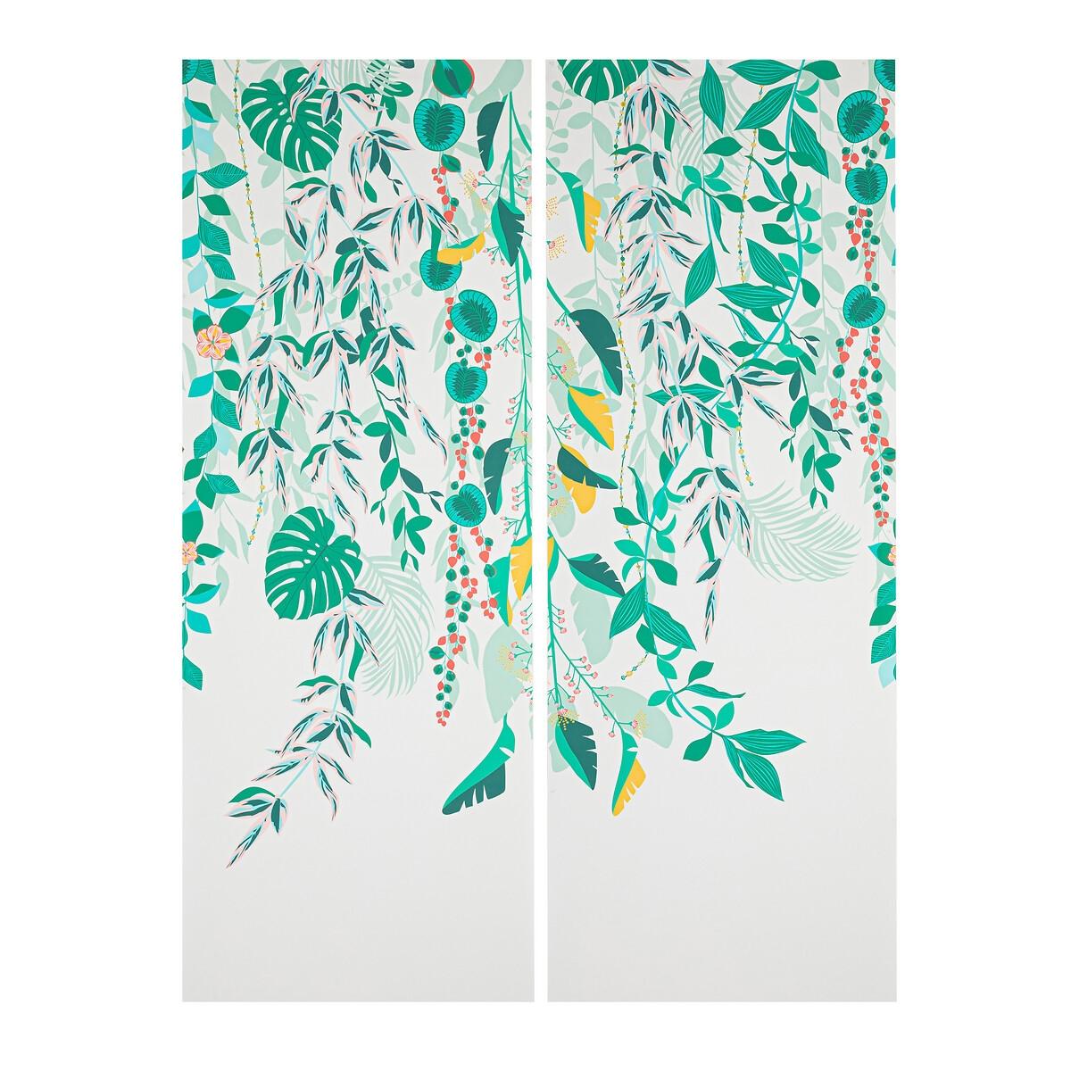Papier peint panoramique motif fleuri 2,7 m Angkor