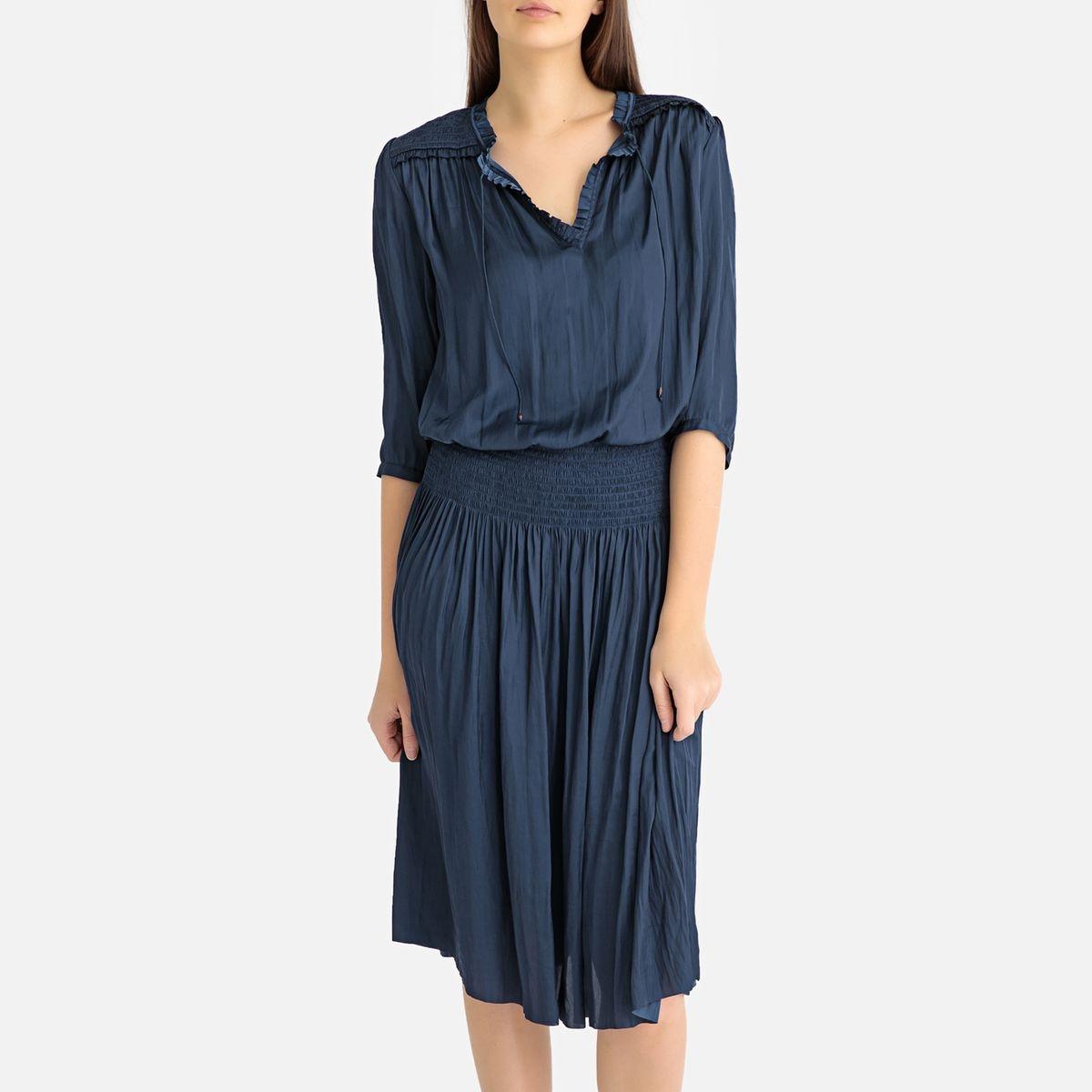 00939adcb8e9 Nouveau Robe mi-longue smockée GERRY. GERARD DAREL
