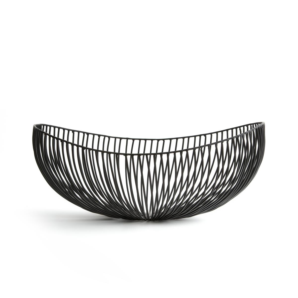 Корзина ToweliКорзина Toweli из металлической сетки. Размеры: - Ш.37 x В.14 x Г.33 см.<br><br>Цвет: черный<br>Размер: единый размер