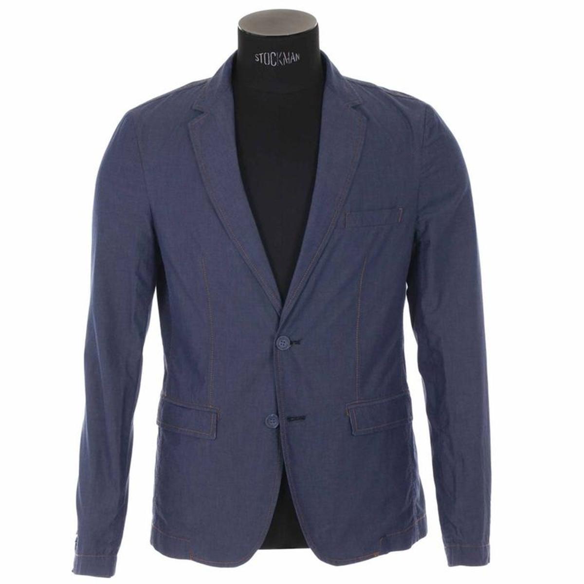 Blazer   100% coton Bleu Jean