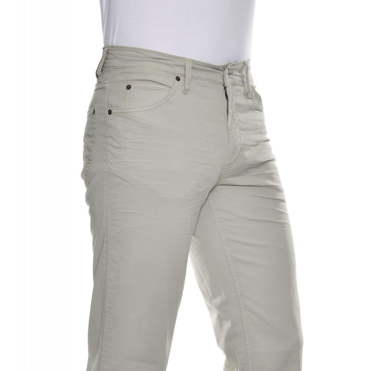 Pantalon gris clair longueur 38