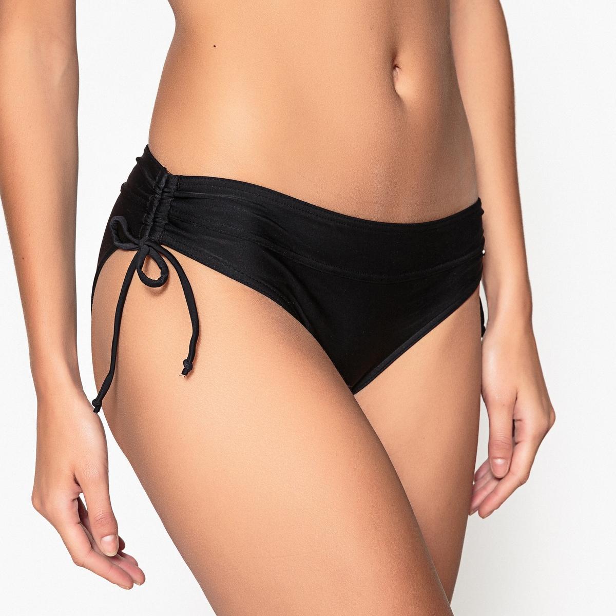 Низ от купальникаНиз от купальника  Плавки облегающие  Завязки по бокам Логотип Banana Moon с вышивкой спереди 20% эластана,  80% полиамида .<br><br>Цвет: черный