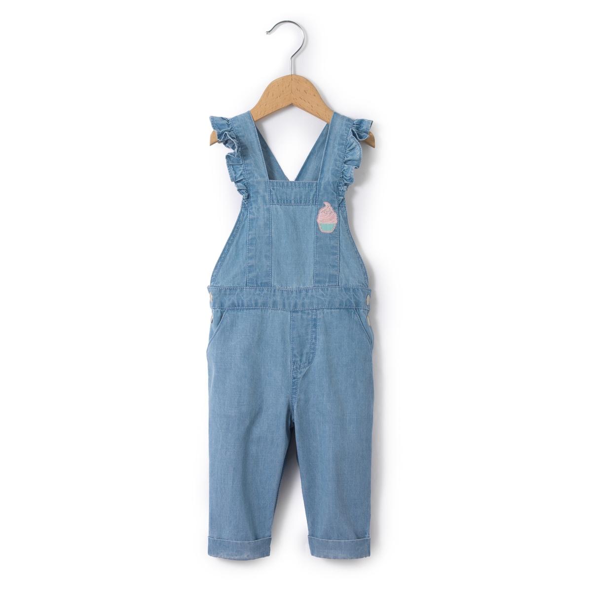 Комбинезон джинсовый легкий  1 мес - 3 лет