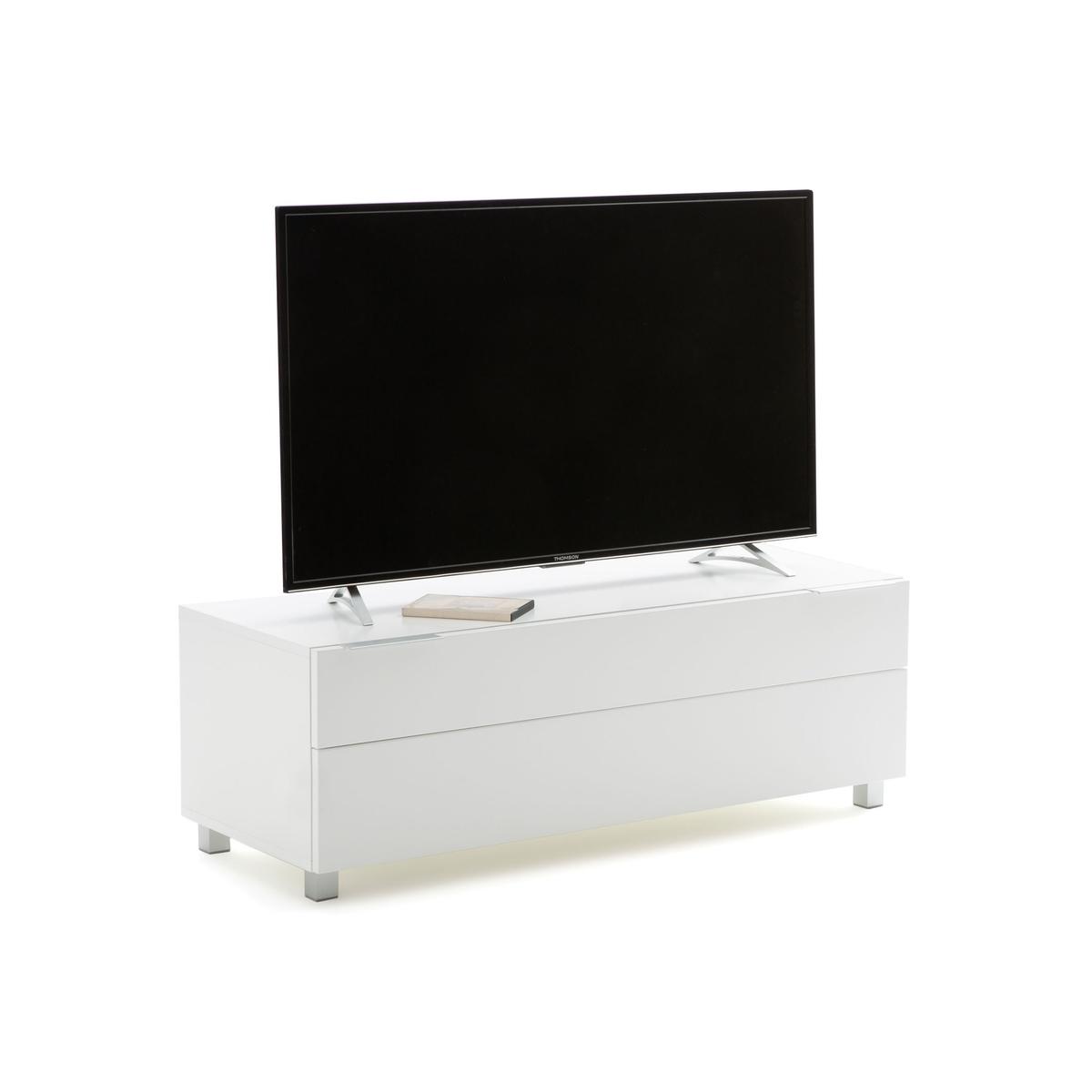 Подставка La Redoute Для TV дизайн high gloss Newark единый размер белый