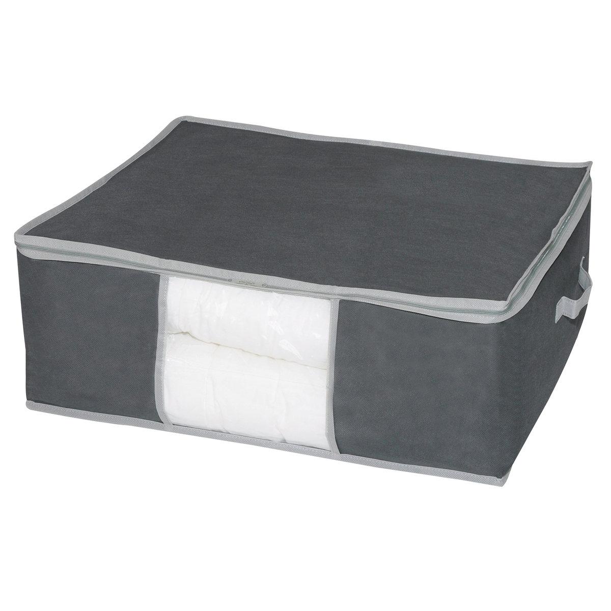 Чехол защитный из нетканого материала для хранения одеял и пледов