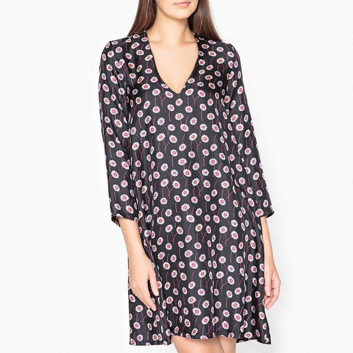 цена Платье с рисунком AUDE онлайн в 2017 году