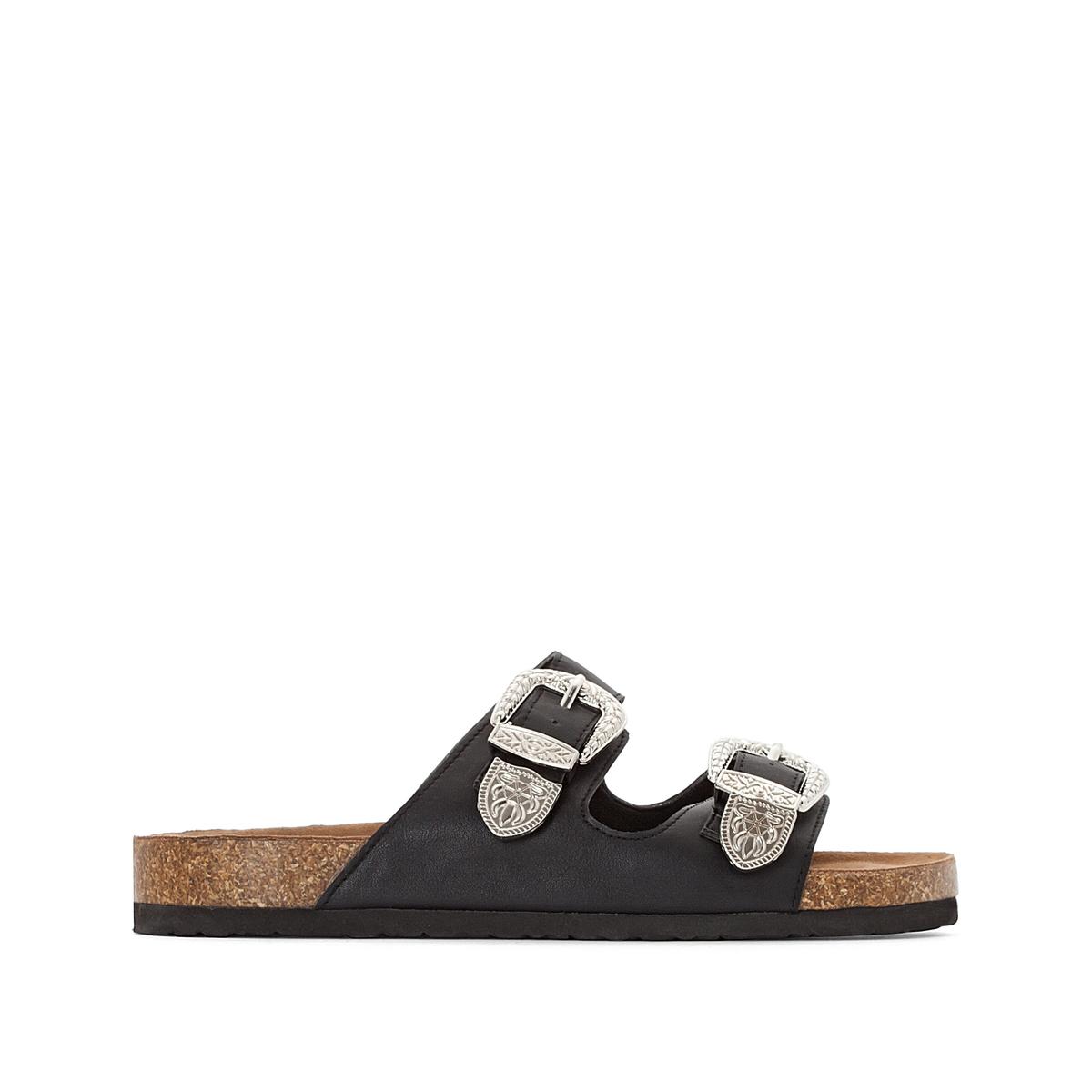 Туфли без задника в стиле вестерн ботинки в стиле вестерн