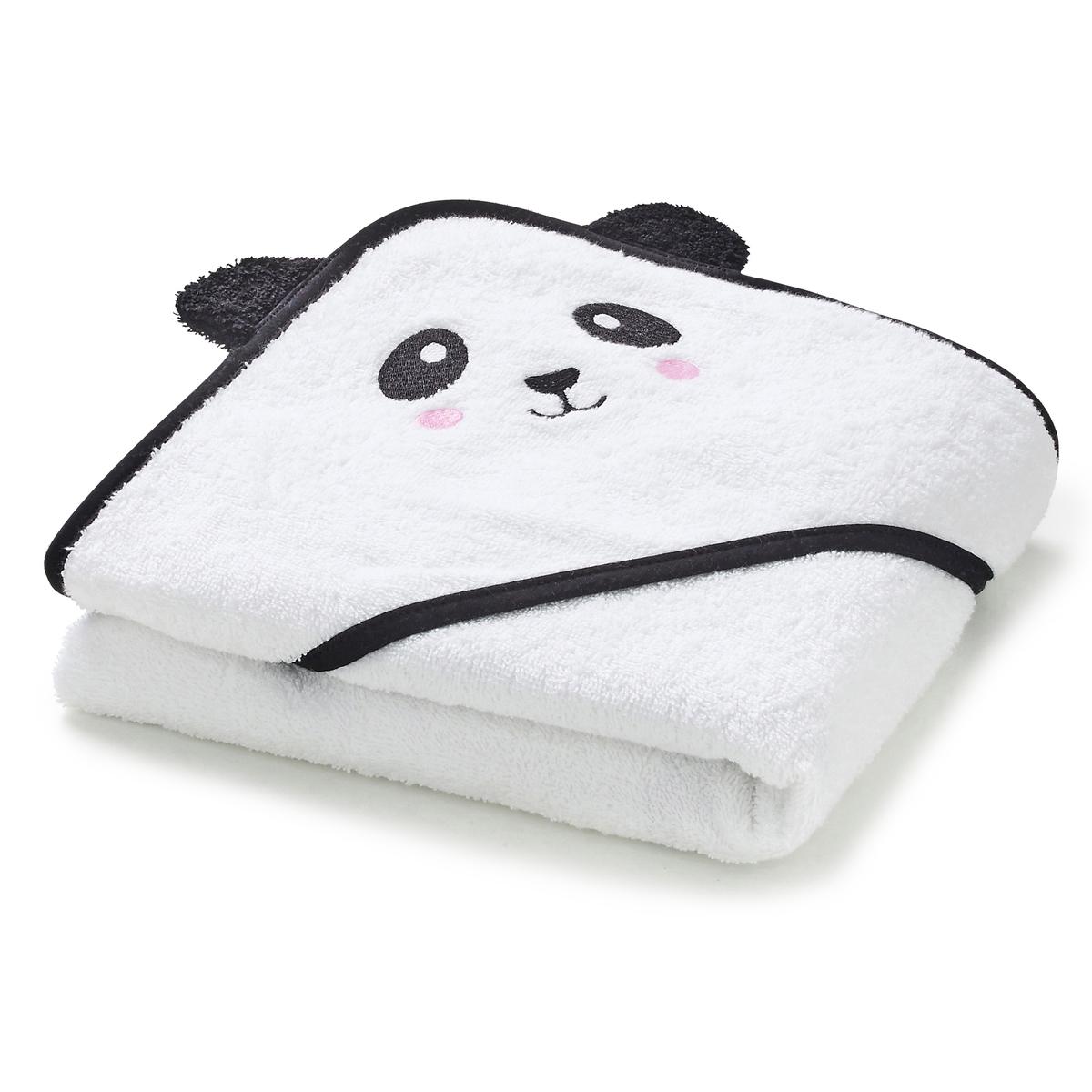 Накидка для ванной с капюшоном детская LEO полотенца cuddledry накидка с капюшоном для малышей горошек
