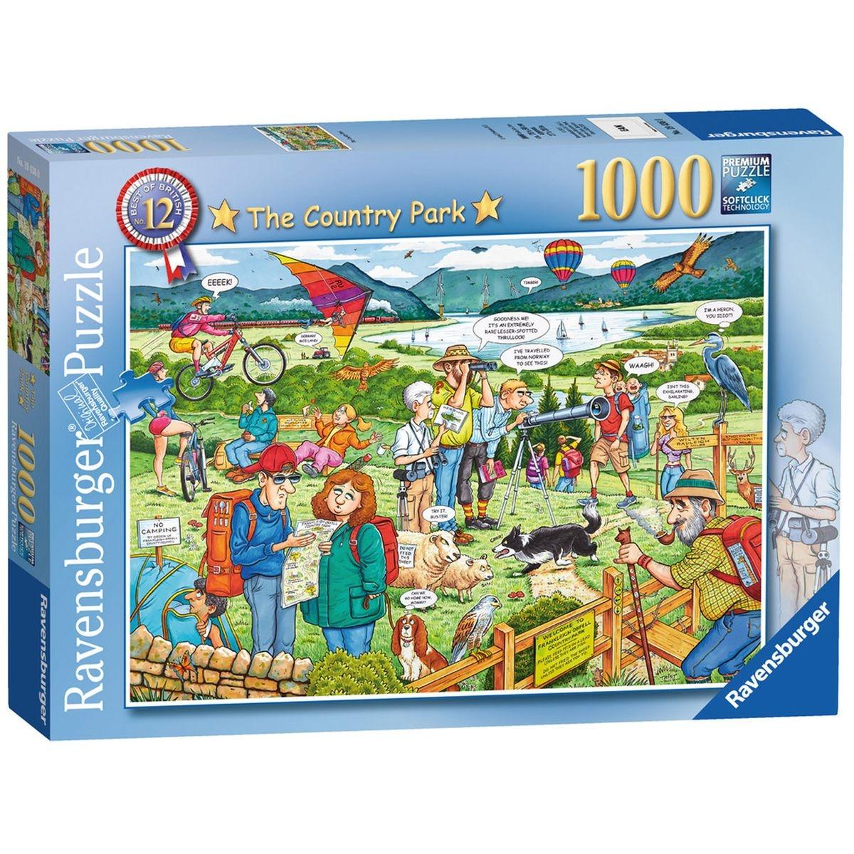 Puzzle 1000 pièces : Parc national