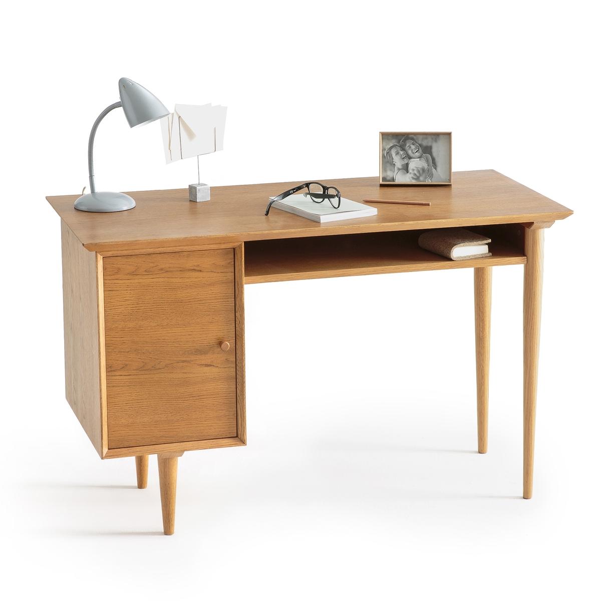 Стол письменный в винтажном стиле с 1 ящиком, Quilda