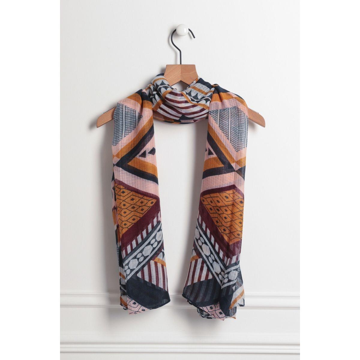 Foulard couture contrastante