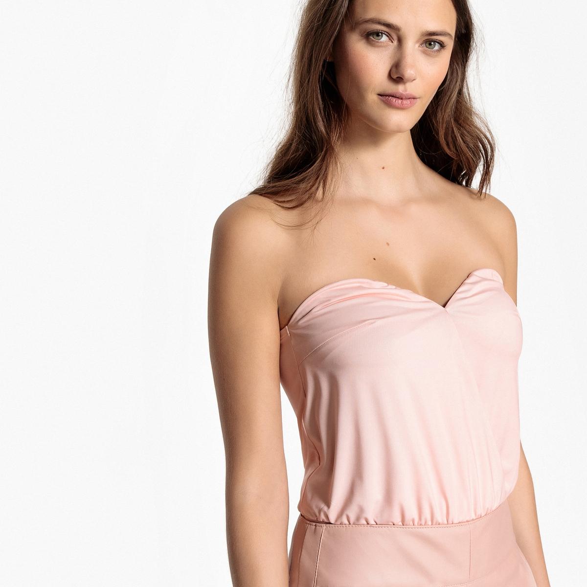 Боди-бюстье La Redoute M розовый
