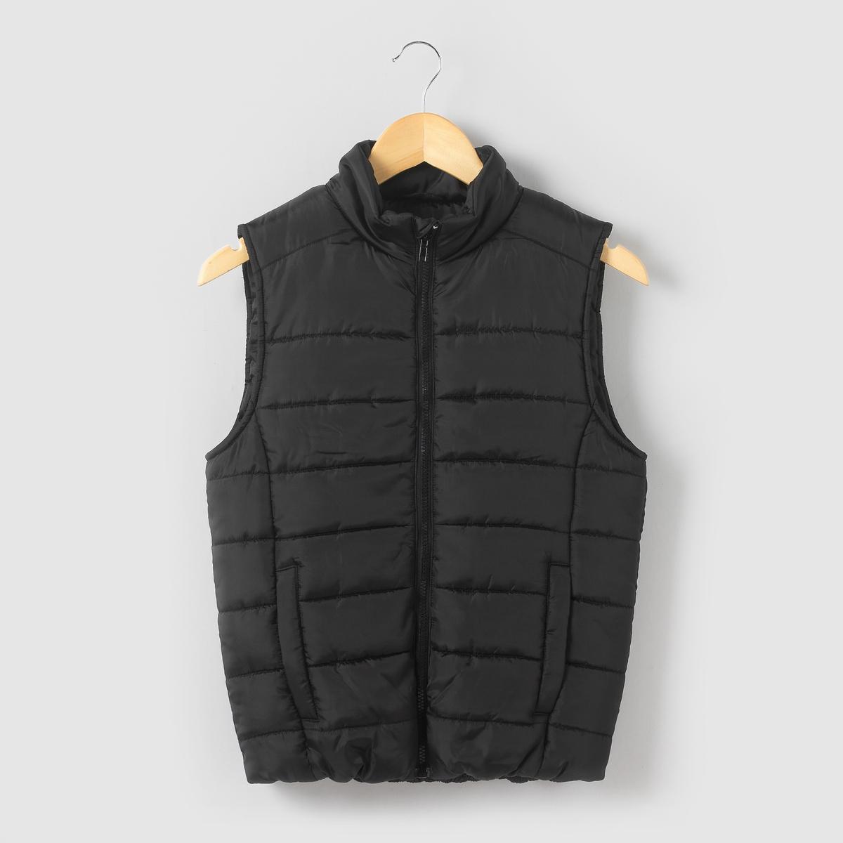 Куртка стеганая легкая без рукавов для 10-16 лет