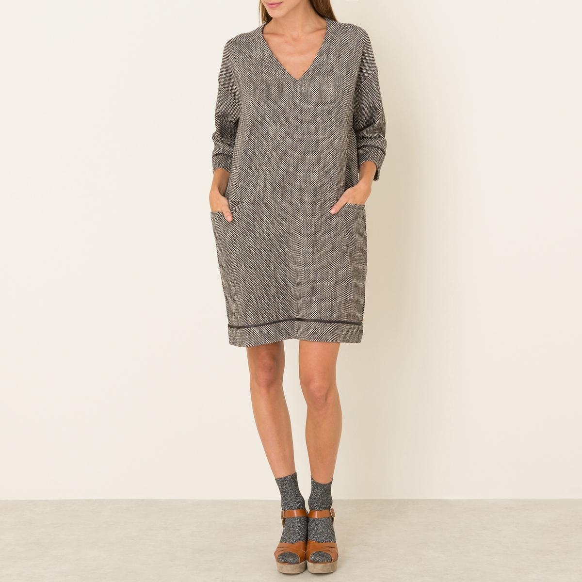 Платье из твида от La Redoute