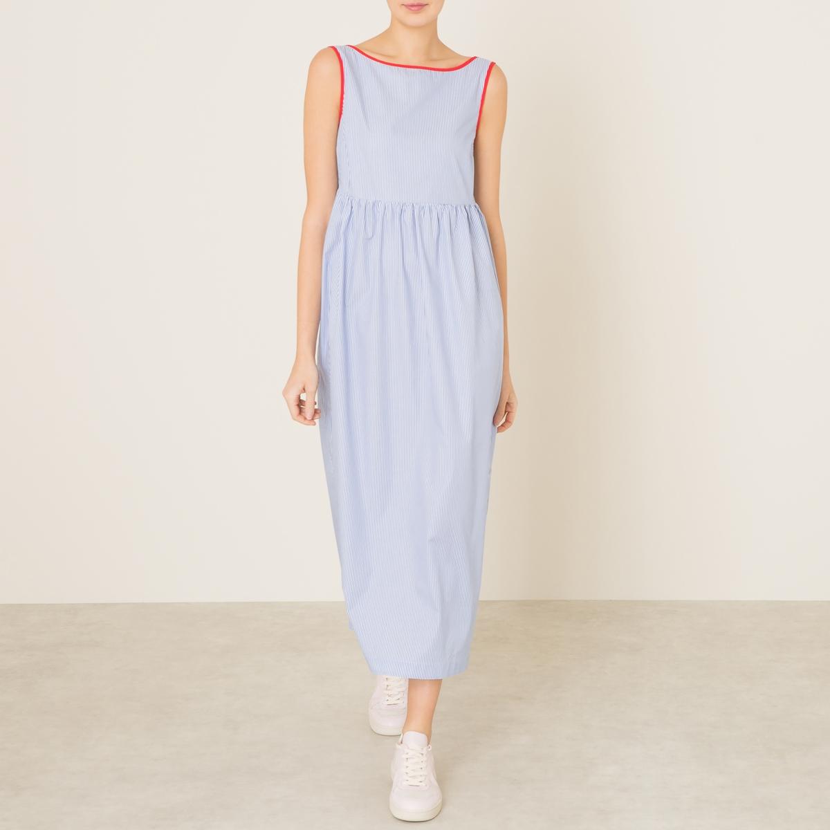 Платье CEDRATAСостав и описание      Материал : 100% хлопок     Марка : MOMONI<br><br>Цвет: белый/ синий