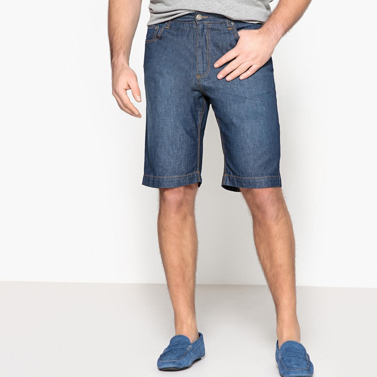 Bermuda 5 tasche cintura elasticizzata