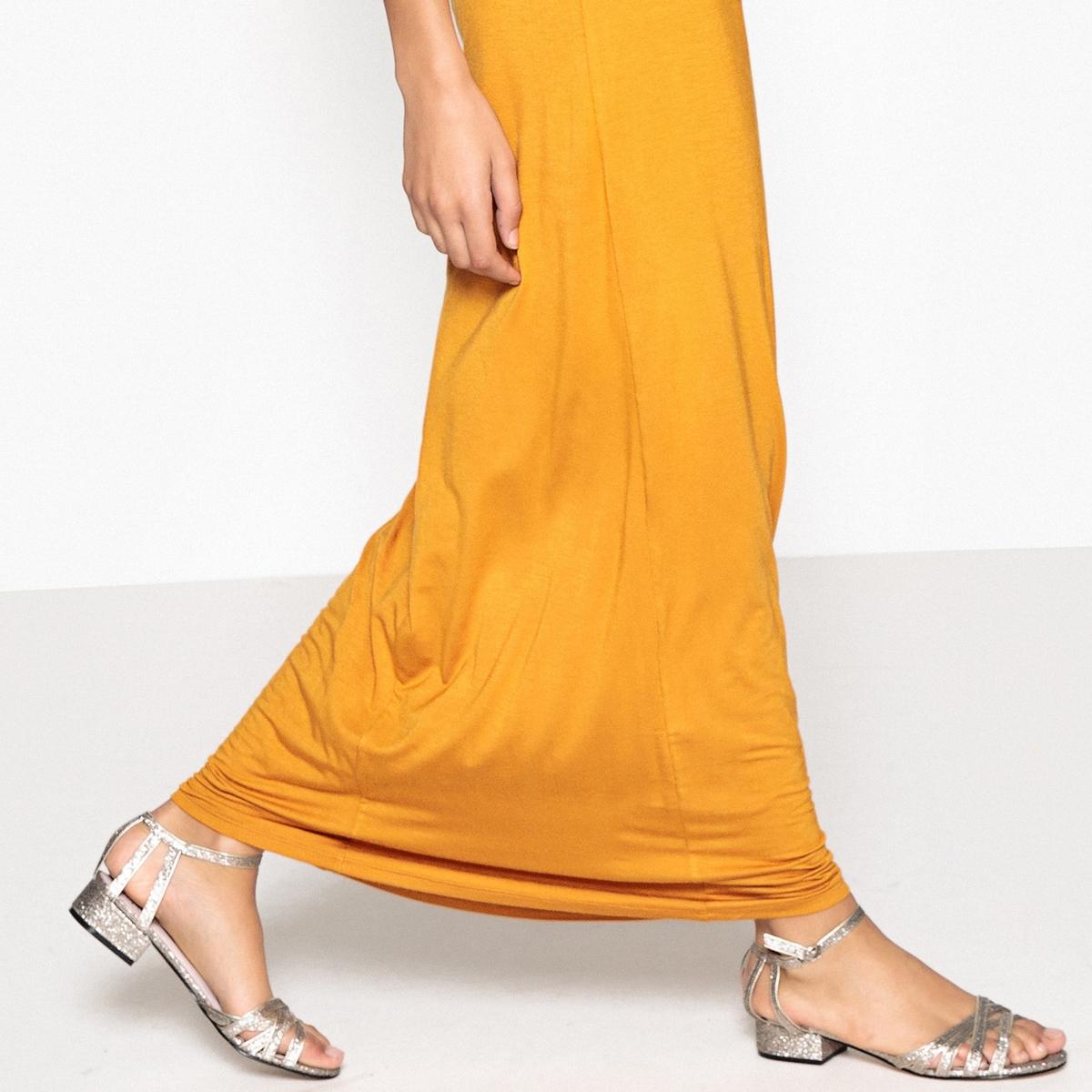 Sandalias brillantes con correas múltiples