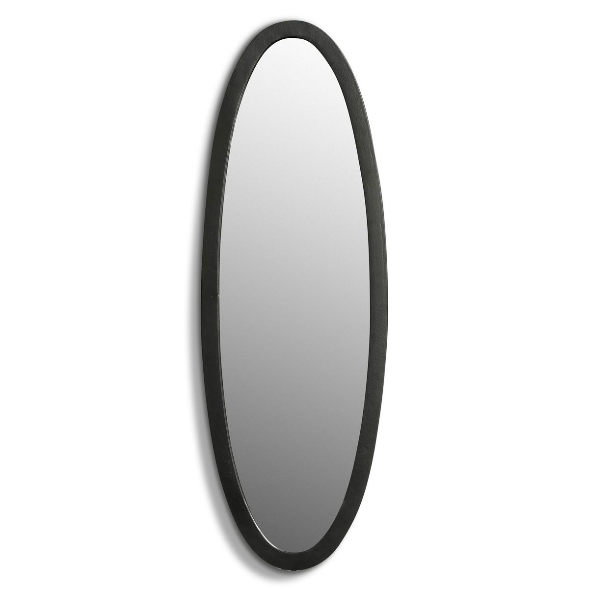 Зеркало настенное Д20 x В59 см, Maddy<br><br>Цвет: черный