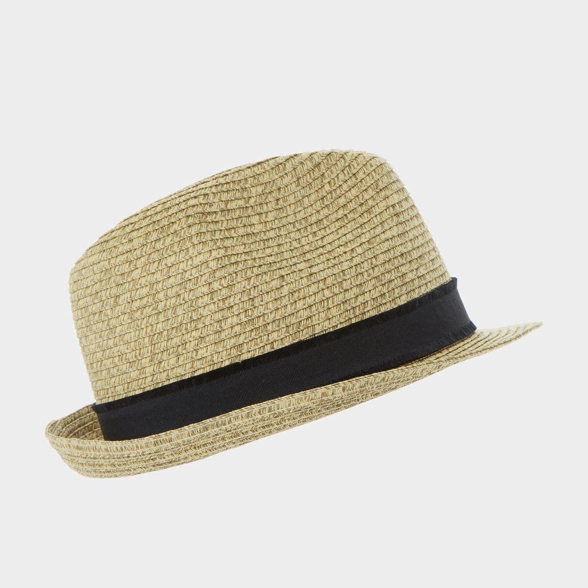 NAPLES - Chapeau mou en paille tressée