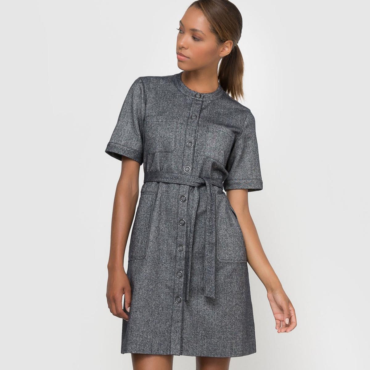 Платье-сарафан с поясом
