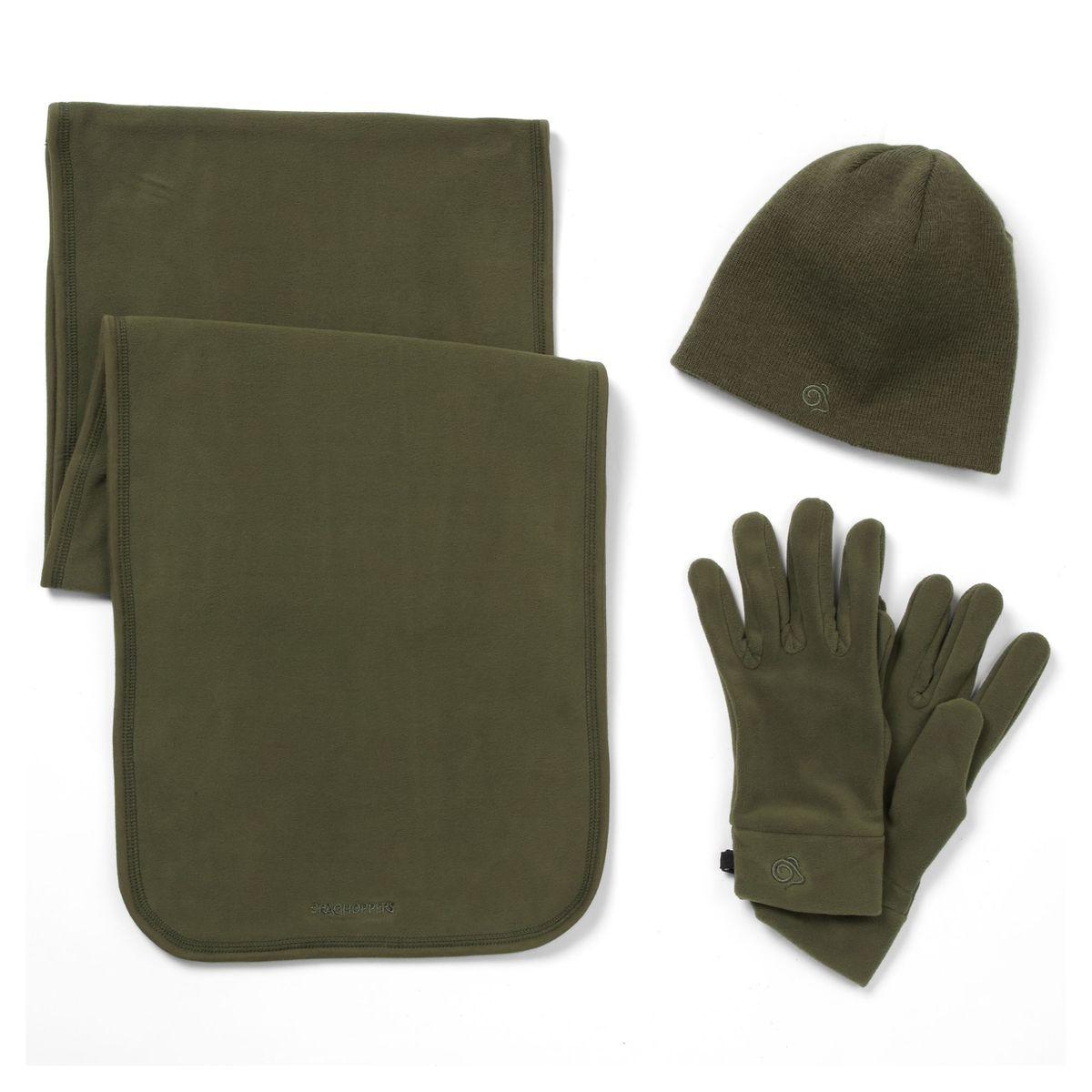Bonnet écharpe gants ESSENTIALS II