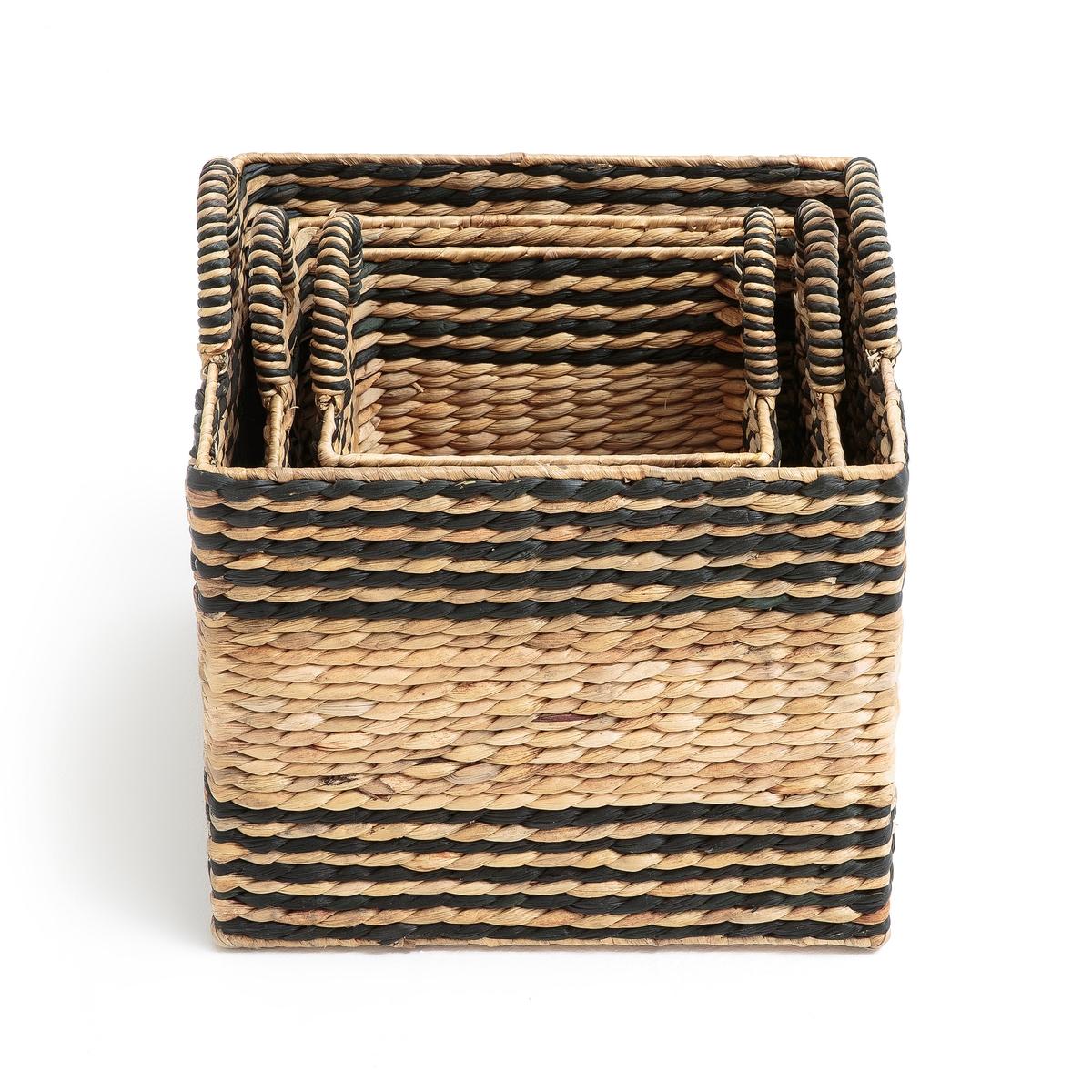 3 корзины плетеные