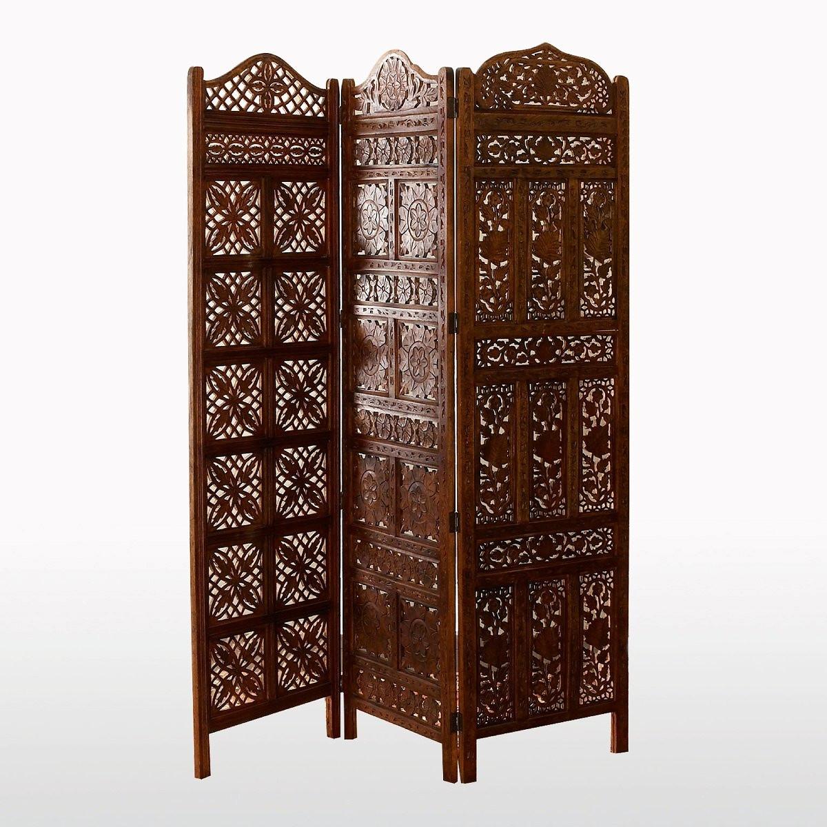 Ширма LaRedoute В стиле арабской решетки Aima единый размер бежевый