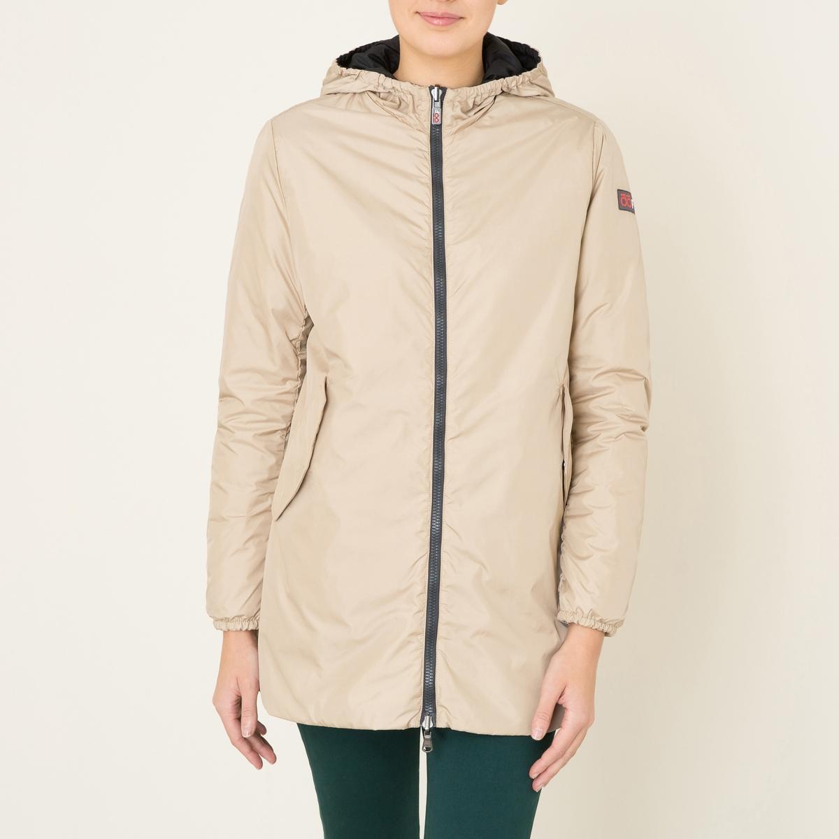 Куртка женская средней длиныСостав и описание Материал : 100% полиамидПодкладка из 100% полиамида Наполнитель 60 грамм, 100% полиэстерМарка : OOF<br><br>Цвет: бежевый/ черный