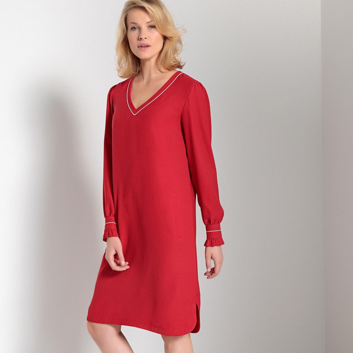 Платье средней длины прямое с длинными рукавами кутюр осень клуб европы новые длинные глубокий v шеи холтер низкой вырезать платье накладки 21706