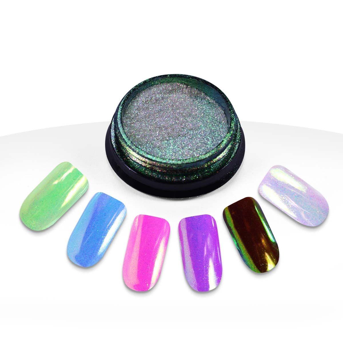Poudre Aurora Nail Art