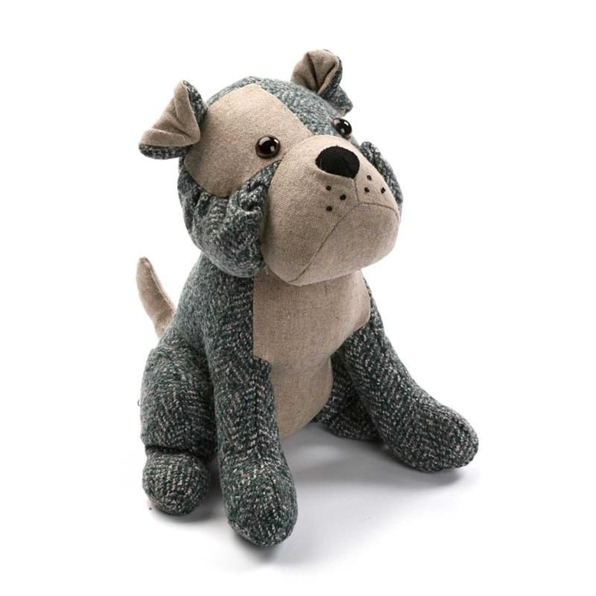 Bloc porte chien gris