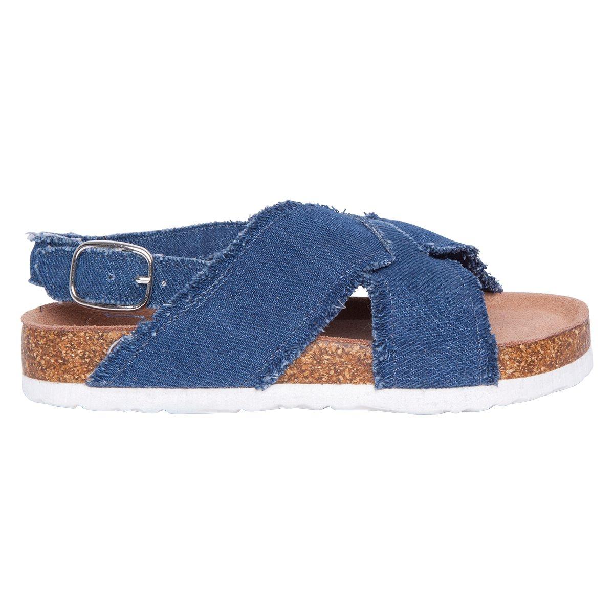 Sandales en jeans arrecife de motif dos
