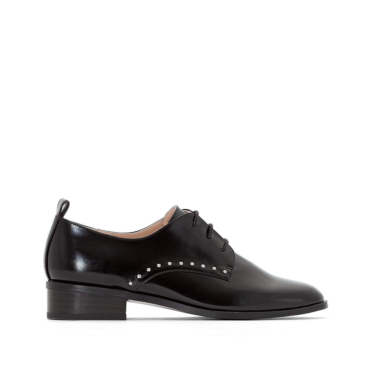 Ботинки-дерби с заклепками
