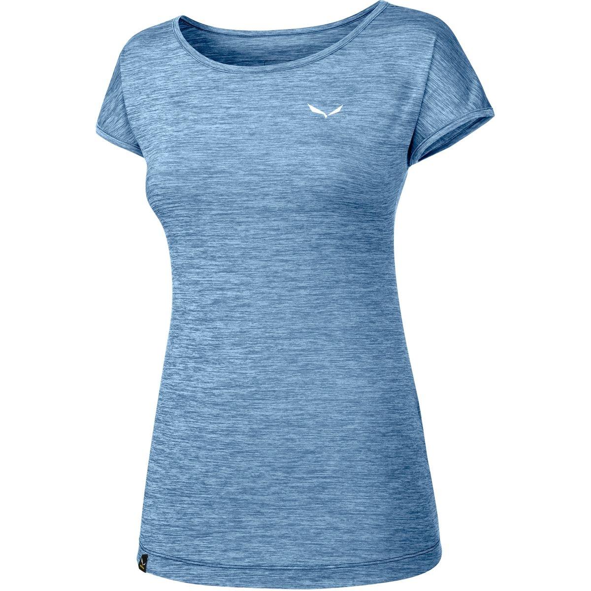 Puez Melange Dry - T-shirt manches courtes Femme - bleu