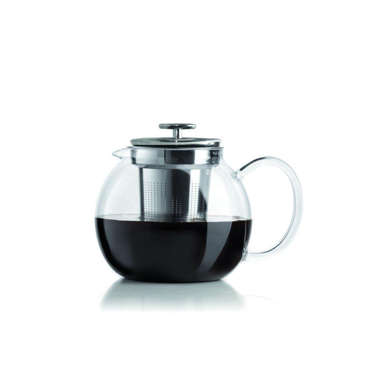 Esthétique et ergonomique, la théière en verre 0003330 de Bialetti est la théière idéale pour retrouver le goût du thé et le préparer dans les règles de lart !Dune capacité de 1L, la théière 0003330 de Bialetti vous offre à la fois un design inimitable et