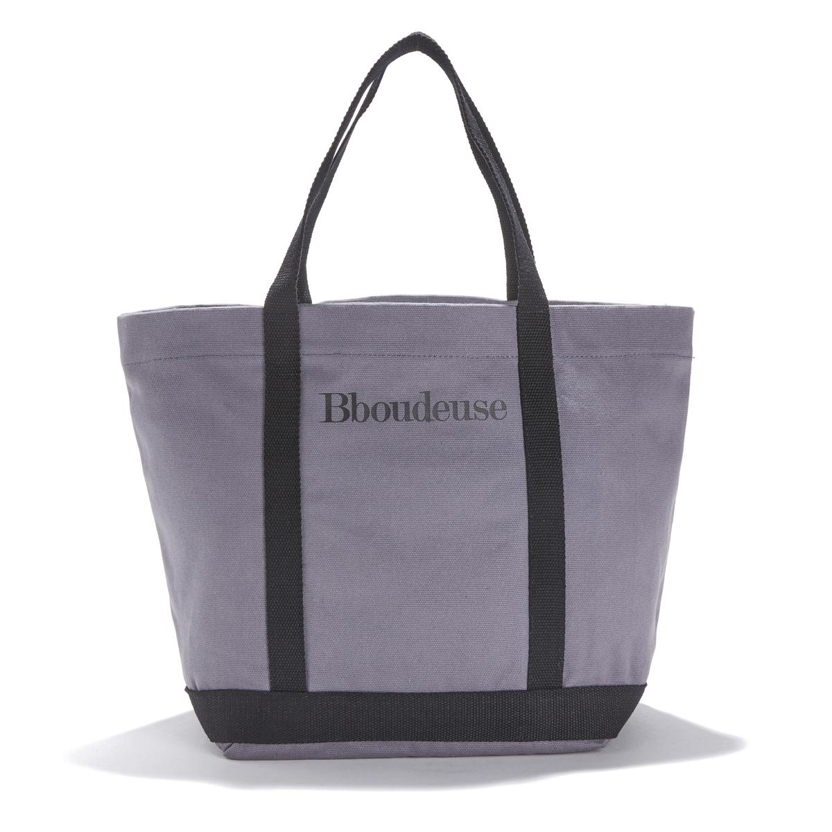 Сумка-шоппер среднего размера с надписью Bboudeuse