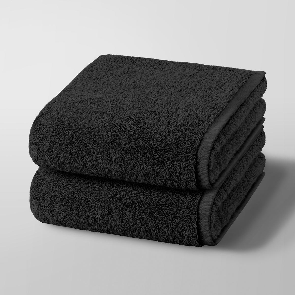 2 полотенца Gilbear, 100% хлопок<br><br>Цвет: сине-зеленый,черный<br>Размер: комплект из 2.комплект из 2