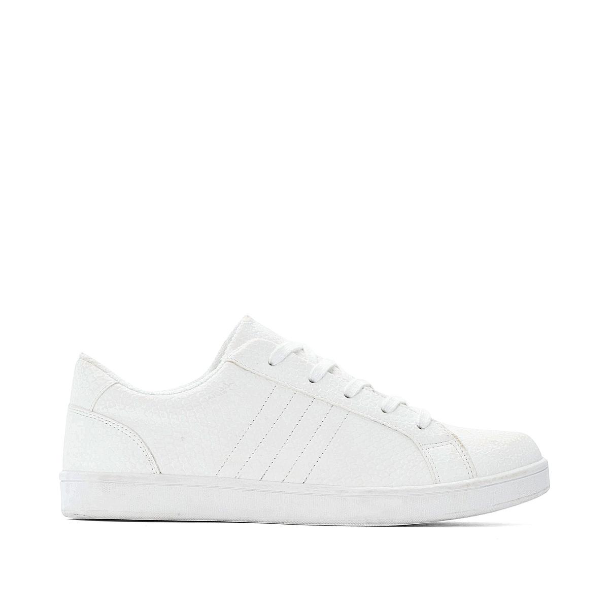 Кроссовки La Redoute — На шнуровке 36 белый