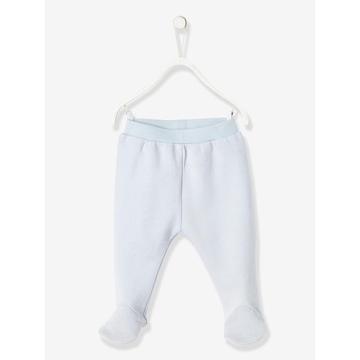 Ensemble bébé T-shirt et pantalon molleton en coton bio
