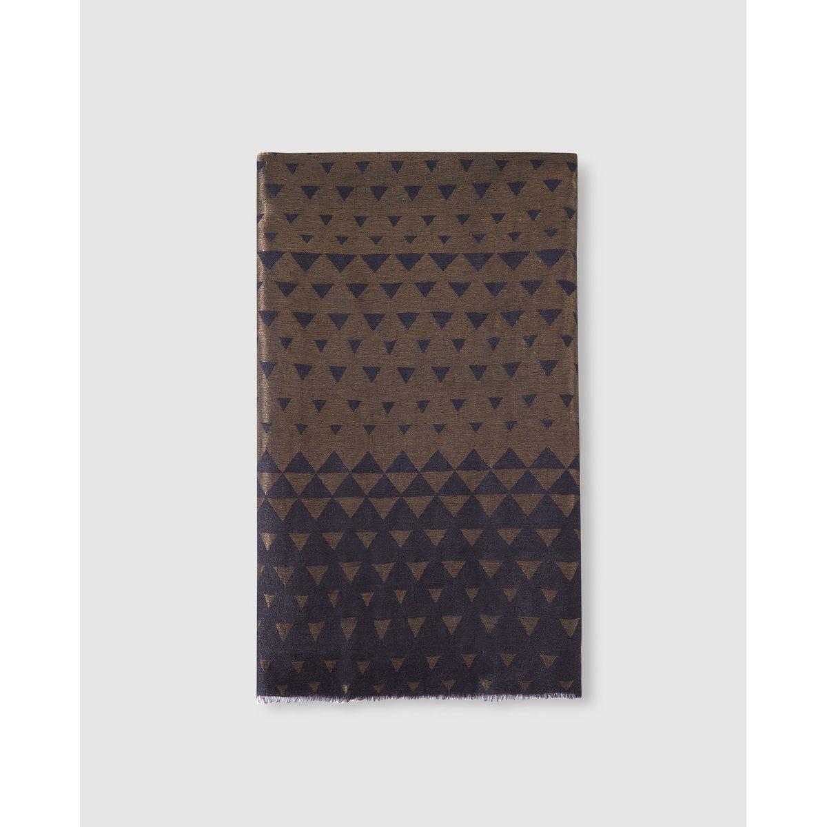 Foulard   à motif triangles