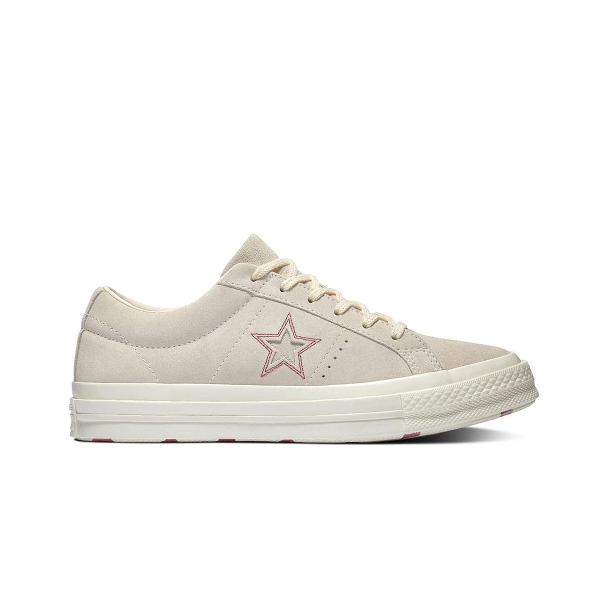 Zapatillas bajas de piel aterciopelada One Star