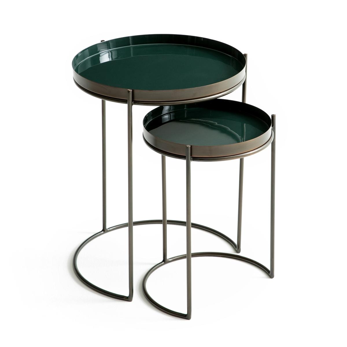 Журнальный столик металлический, Picabea (2 шт.)