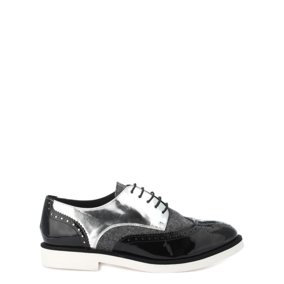 Ботинки-дерби кожаные Ela/Flanelle ботинки дерби под кожу питона